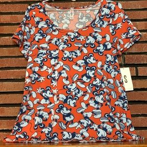 LuLaRoe Mickey Top SZ-S